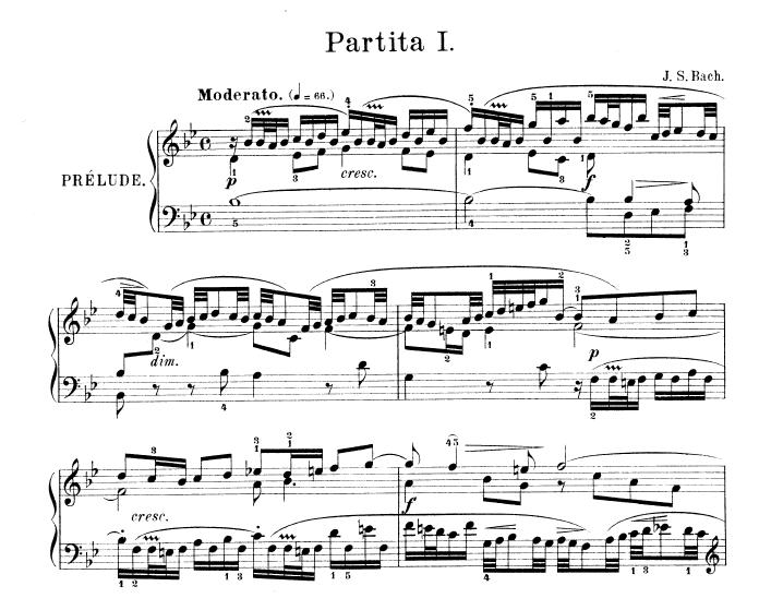 J. S. Bach - Partita No. 1 in B, BWV 825 Dom Pełen Muzyki